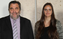 Valentine Maitre (Porto-Vecchio) prix académique de l'éducation 2013
