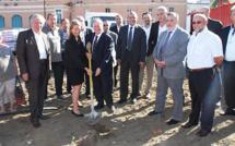 Ajaccio : La première pierre du parking du square Campinchi