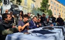 Les collectifs de défense des ''prisonniers politiques'' corses jouent la carte de l'Unità Strategica