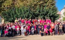 Marche rose à Saint-Florent : une belle mobilisation contre le cancer du sein