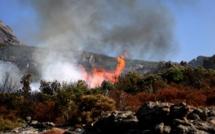 Une dizaine d'incendies en Haute-Corse