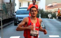 "Karim Chabouchi (AJB) vainqueur de la course pédestre ""A Balanina"""