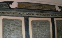 Cérémonie du souvenir au collège Simon-Vinciguerra de Bastia