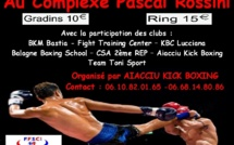 La 8ème Coupe de Corse de Kick Boxing se disputera à Ajaccio