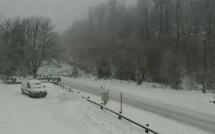 Vizzavona : La neige est au rendez-vous