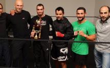 Mohammed Sanhaji champion de Corse de boxe K1