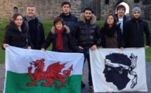 Les étudiants corses en voyage au Pays de Galles