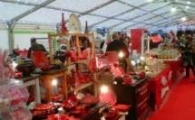 Tapis rouge pour le marché de Noël de Porticcio