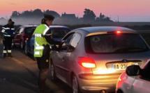 Haute-Corse : 600 conducteurs contrôlés, 10 suspensions du permis