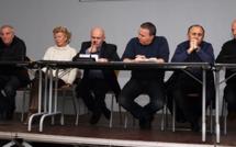 Ghisonaccia :  Forte affluence pour condamner le découpage cantonal
