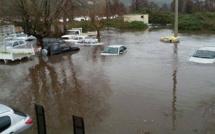 Les intempéries en Corse-du-Sud : Routes fermées, éboulements, inondations