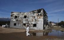 Ghisonaccia: Le hangar de la société Irrigaronne détruit par le feu