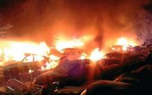 Incendie de Tragone : 40 voitures brûlées