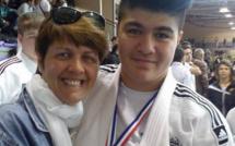 La calvaise Julia Tolofua championne de France cadette de judo à Ceyrat