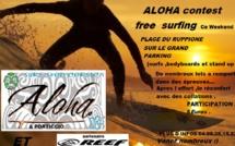 Aloha surf... plage du Ruppione