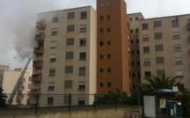 Ajaccio : Un violent incendie d'appartement maîtrisé par les pompiers