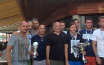 Susini-Alessandri vainqueurs du tournoi de footy-volley du Neptune