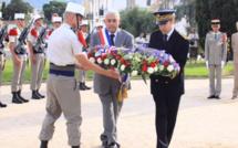 L'appel du général de Gaulle au square de la 1re DFL à L'Ile-Rousse