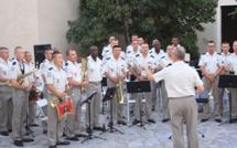 """La Musique de la Légion Etrangère """"enflamme"""" la citadelle de Calvi"""