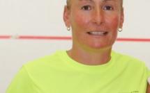 Noëllie Marchetti en finale de l'Open international de squash de l'Ile-Rousse