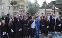 Bacheliers: Cérémonie de récompense à l'Américaine à Prunelli-di-Fium'Orbu