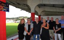 Stade Ange-Casanova de Mezzavia : La tribune porte désormais le nom de Charles-Alessandri