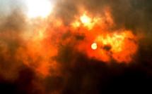 """Nuit """"chaude"""" à Lecci : 85 ha détruits, des maisons endommagées, des personnes mises en sécurité"""