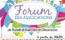 Migliacciaru : Le forum des associations de Prunelli et de Ghisonaccia Piazza di a Nazione