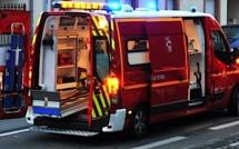 Une voiture sur le toit à Muratello : 3 blessés