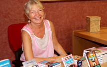 """Nadine Monfils """"invite"""" Mémé Cornemuse à la Bibliothèque-médiathèque municipale de Calvi"""