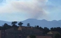 Quenza : Le feu à proximité du refuge d'Asinau. 5 à 6 hectares détruits
