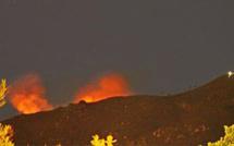 Ajaccio : Le feu sur les hauteurs de la ville