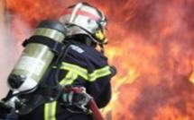 Bastia : Le feu dans un garage du Macchione. Un blessé