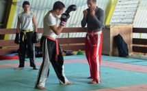 Stage de kick Boxing à Corte avec Christian Battesti