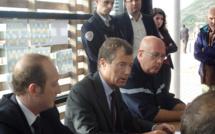 Feu de La Parata : Le préfet de Corse et le député-maire d'Ajaccio sur les lieux