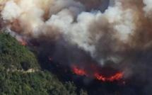 180 hectares détruits entre Talasani et Velone-Orneto. 10 avions et 60 hommes mobilisés !