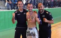 La coupe de France de K1 Rules à Lionel Duclot ( Bastia Kick Max)