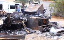 Un fourgon à pizza détruit par un attentat à Calenzana