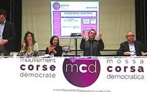 Le Mouvement Corse Démocrate enfin sur les rails !