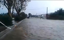 Déluge sur la Haute-Corse : Routes coupées, inondations et mises en sécurité