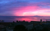 Bastia : Un balcon sur la Tyrrhénienne et l'archipel toscan