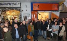 Ajaccio : Ouverture de la permanence de Corsica Libera rue Fesch