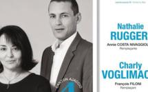 Ajaccio IV : Nathalie Ruggeri et Charly Voglimacci veulent restaurer la proximité avec les habitants