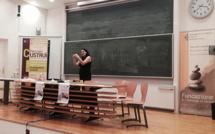 Corte : Madi Sharma invitée par la fondation de l'université