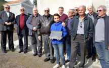Hommage de l'amicale des anciens du GFCA à Paul Bertolucci et Angeot Dellasantina