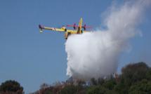 Porto-Vecchio : 3 000m2 brûlés et les Canadair a Pezza Cardu