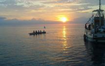 Défi féminin à la rame Bastia-Ile d'Elbe : Pari aller tenu