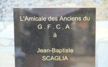 L'hommage de l'amicale des anciens du GFCA à Jean-Baptiste Scaglia