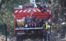 Dans le Réginu un véhicule 4X4 s'enflamme et met le feu au maquis
