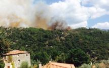 La Corse-du-Sud en proie aux flammes